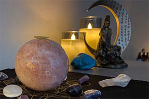 crystal therapy and reiki