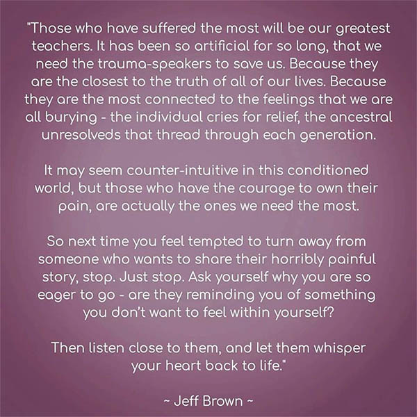 Jeff Brown Quote